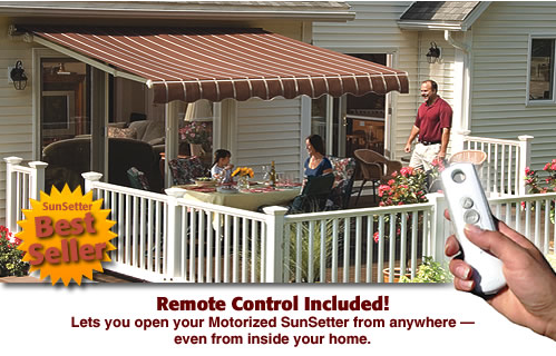 ABC Windows And More sunsetter retractable awnings and shades Toledo Ohio